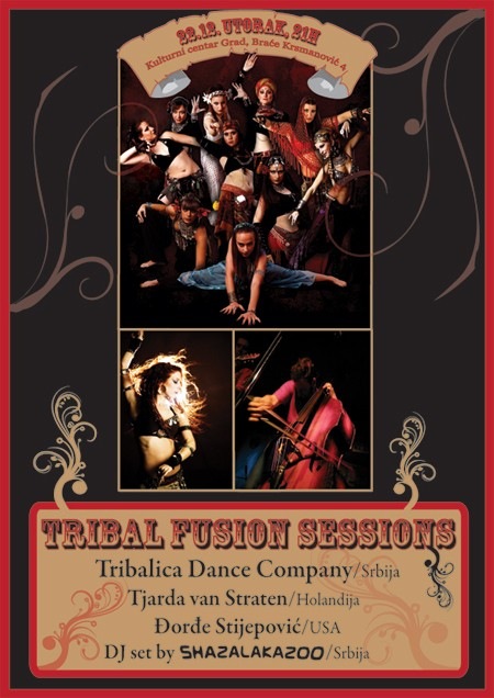 Vodimo Vas na Tribal Fussion Sessions