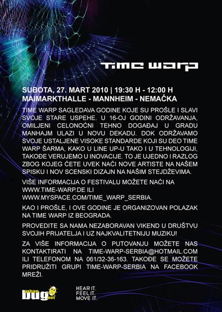 Time Warp 2010.