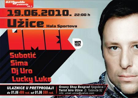 DJ Umek u Užicu