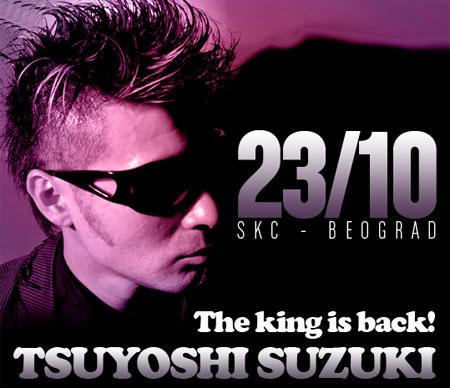 The king is back: Tsuyoshi Suzuki