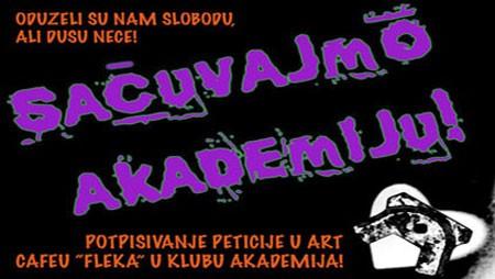 Koncertima i žurkama za Akademiju!