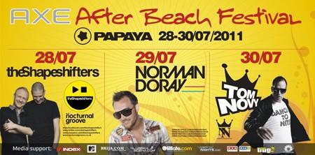Axe After Beach festival, Papaya club