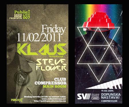 Vikend u clubu Compressor 11-12.02.2011.