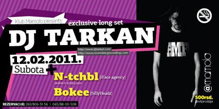 DJ Tarkan ponovo u Beogradu!
