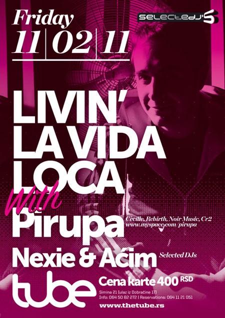 DJ Pirupa (Ita) u klubu The Tube