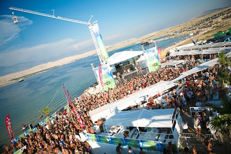 Club Papaya Zrće beach
