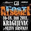 Počeo trodnevni Arsenal Fest u Kragujevcu