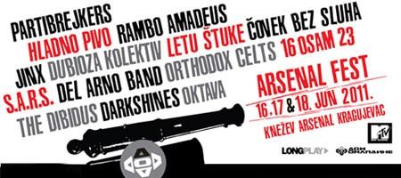 Arsenal Fest,  Kragujevac 2011