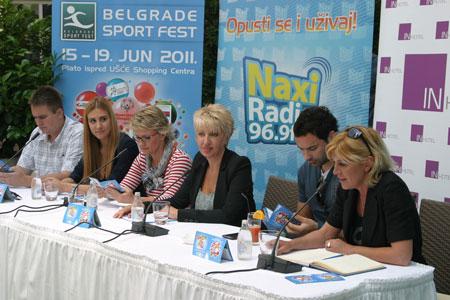 Predstavljen Belgrade Sport Fest 2011