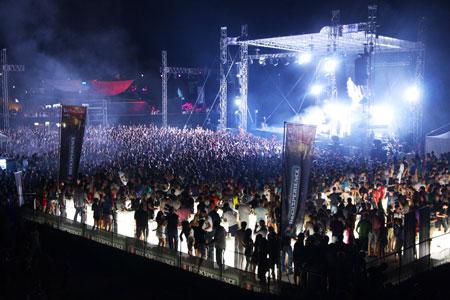 FatBoy Slim, Big Beach festival 2011, Hrvatska