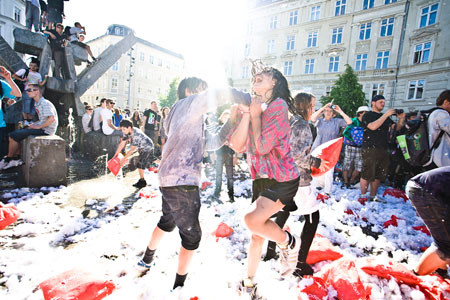 Distortion  festival, Danska