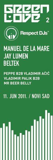 Green Love 002, Jelisavetin Bastion, NS
