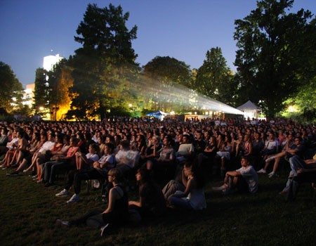 Atmosfera na Cinema City Festu, NS, 2011