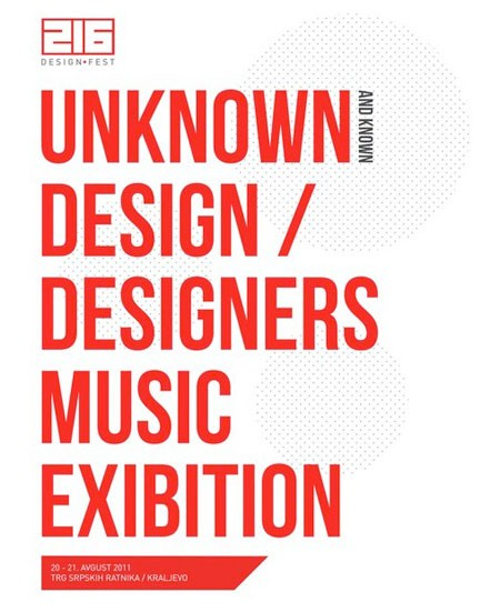 216 design fest, Kraljevo