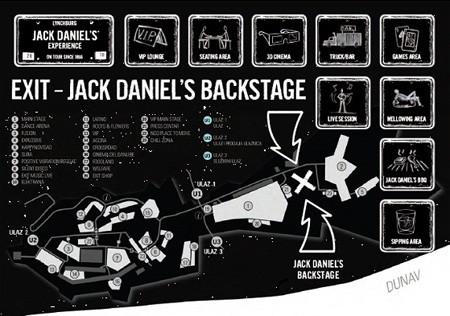 EXIT - Jack Daniel's backstage