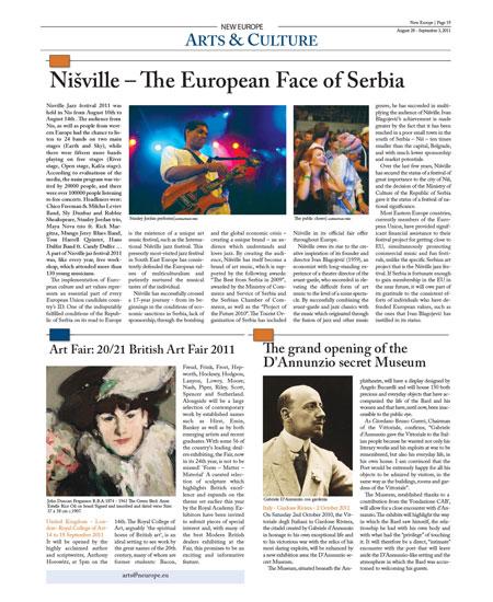Nišville - Evropsko lice Srbije