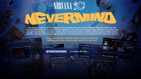 "Fanovi pokrenuli ""jubilarni"" Nirvana website"
