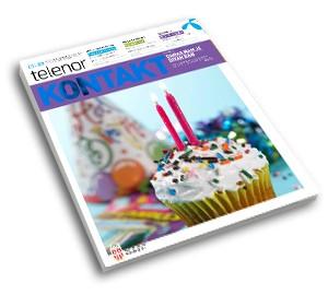 Telenor Kontakt magazin
