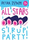 Vodimo vas na All Stars Sirup Party!