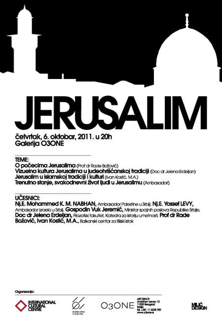 Jerusalim - na spojevima kultura
