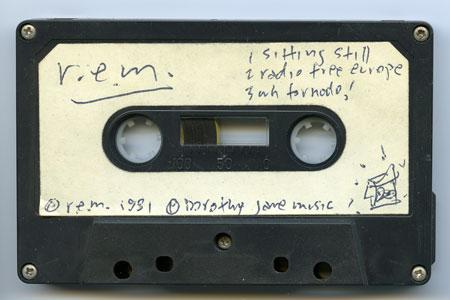 Retka demo kaseta R.E.M.-a