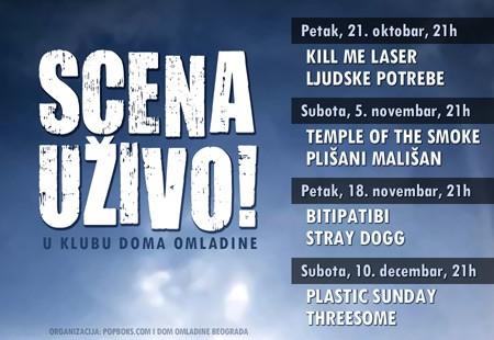 Serijal koncerata SCENA Uživo!