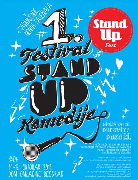 Prvi festival Stand up komedije u Srbiji
