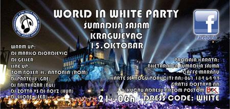 """World in white party"" u Kragujevcu"