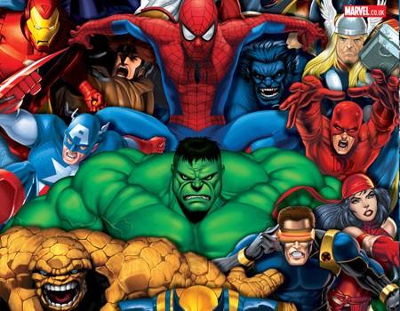 Junaci Marvel Comics-a