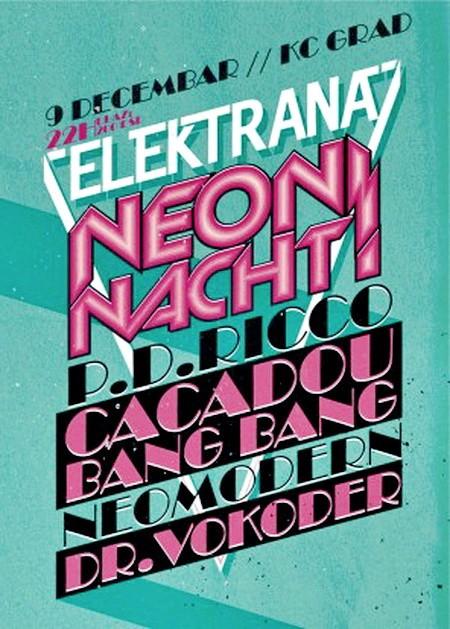 Elektrana Neon Nacht u KC Gradu
