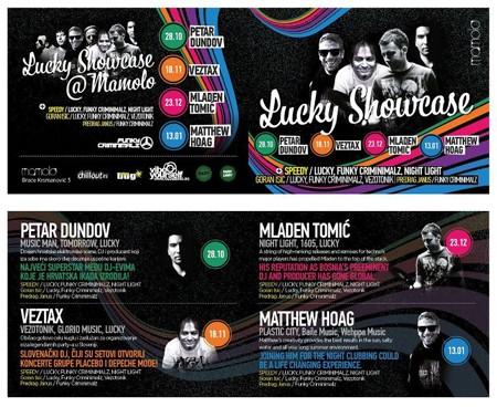 Lucky Showcase, MAmolo 2011 / 2012