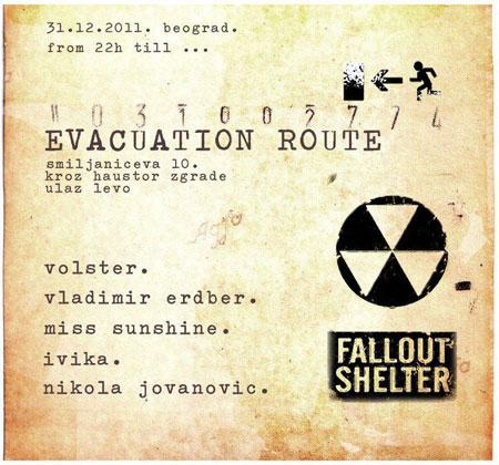 """NY Party """"Evacuation tour"""""""