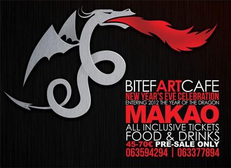 Makao New Year's Eve Celebration. BitefArtCafe