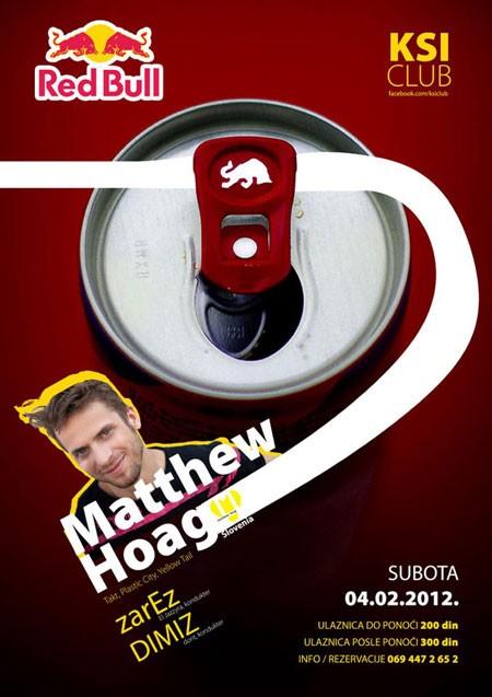 DJ Matthew Hoag u klubu KSI u Nišu