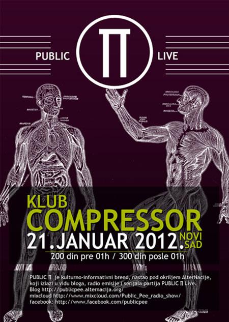 Vodimo vas na Public ∏ Live, Miss Sunshine, u klubu Compressor