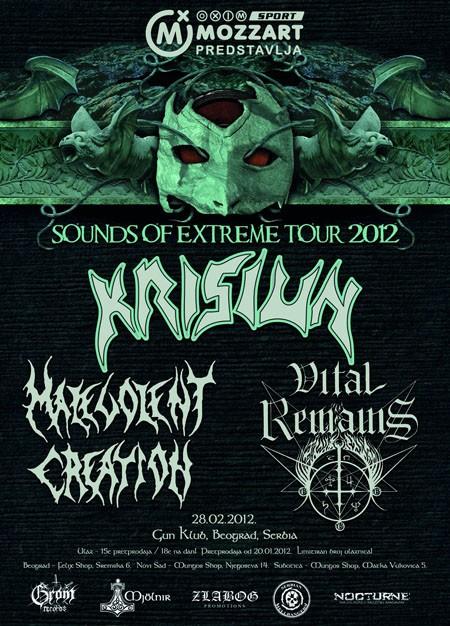 """Sounds of Extreme"" metal spektakl"