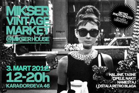 Mikser Vintage Market @ Mikser House