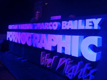 Pornographic Label Night - Cristian Varela & Marco Bailey