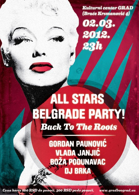 All Stars Belgrade Party