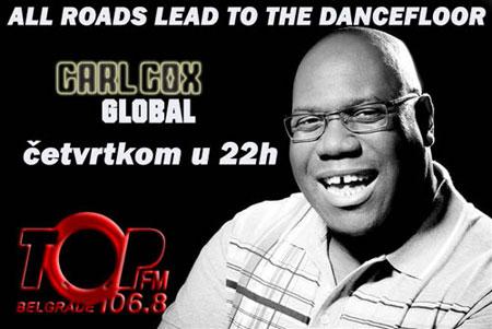 Carl Cox četvrtkom u 22h na TopFM!