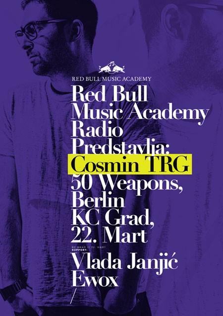 Cosmin TRG na Red Bull Music Academy Workshopu u Beogradu, 2012