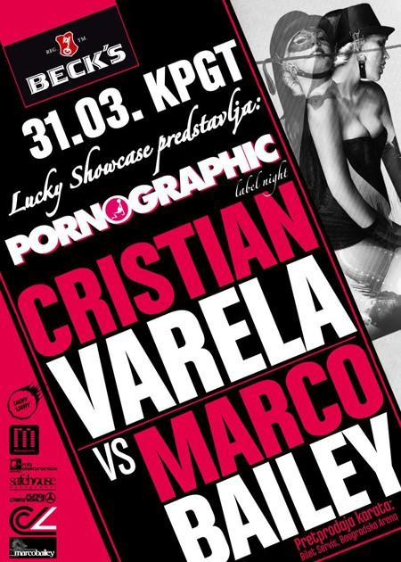 Pornographic Label Nights 31. mart, KPGT Beograd