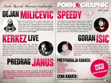 Pornographic Label night 31. mart 2012.