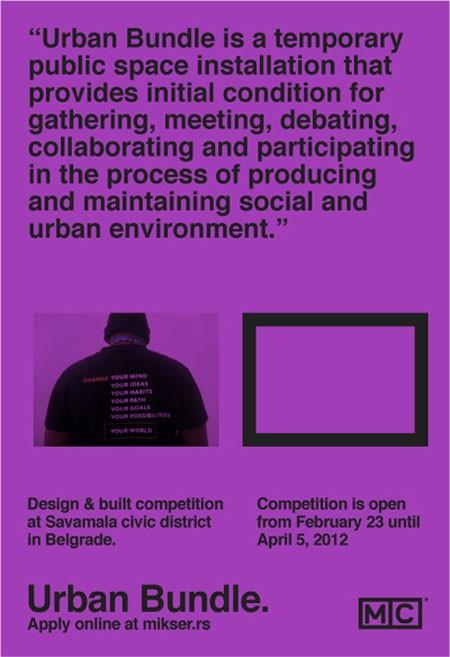 Mikser Urban Bundle - Konkurs za Gradska okupljališta