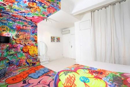 Polu-Graffiti soba