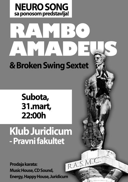 Rambo Amadeus & Broken Swing Sextet u Nišu!