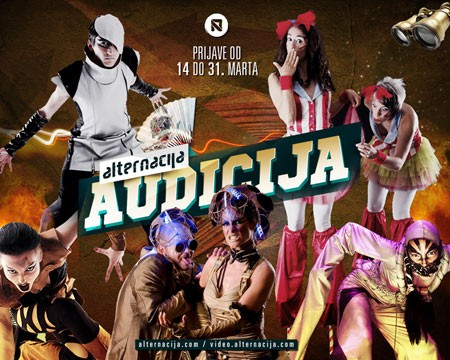 AlterNacija - Audicija za performere