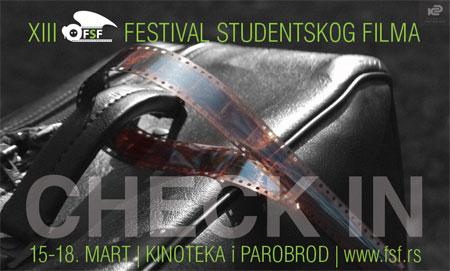 """Čekiraj se"" za 13. Festival studentskog filma"
