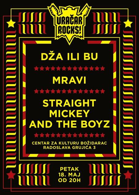 Vračar Rocks! - Dža ili Bu, Mravi i Straight Mickey and the Boyz