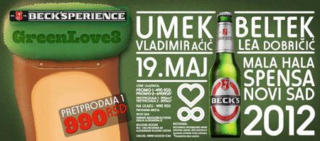 Eko akcija Beck's-a i Green love festivala na Štrandu